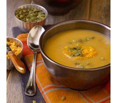 David Venable's Butternut Squash Soup with Pumpkin Butter