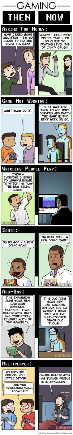 Gaming Then and Now {3}