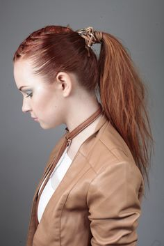 The mechanic hair look by our ID Artist's, art directed by Brooks and Brooks, from L'Oréal Colour Trophy Regional Tour 2015.
