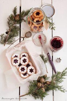 Biancavaniglia Rossacannella: #aNataletiregalo 2. Linzer cookies