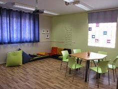 חדר בבליותרפי בבית ספר שחף