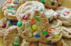 Going to try a new M&M cookie recipe!