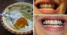 Chcete mať krásne biele zuby a zároveň sa zbaviť bolestí, opuchov ďasien či zlého zápachu? Potom je táto domáca zubná pasta presne pre vás.                      1 čajovú lyžičku kurkumy 1 čajovú lyžičku kokosového oleja 1 až 2 kvapky esenciálneho oleja z mäty (voliteľné kvôli mentolovej chuti)