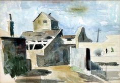 This is Old Buildings, Shoreham by Elwin Hawthorne pic.twitter.com/UBUEbTjetq