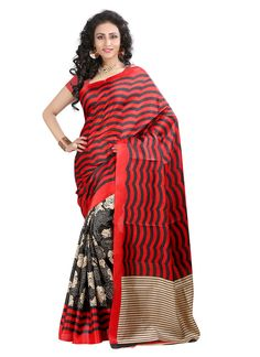 Designer Pure Bhagalpuri Silk Saree - 7 Days Easy Return, Buy Designer Saree, Georgette Saree, Embroidery Saree, Party Wear Saree, etc...