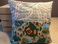 Yogi Bear Pocket Pillow by thescrappyquilter22 on Etsy