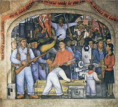 The Arsenal, 1928 by Diego Rivera