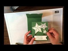Graduation Slide Up Gift Card Holder - How to Video - Stamp Up a Storm
