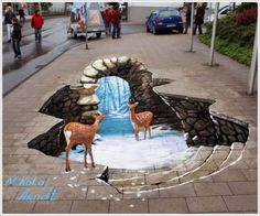Awesome Outdoor 3D Art