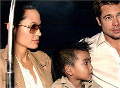 Angelina Jolie wearing MYKITA