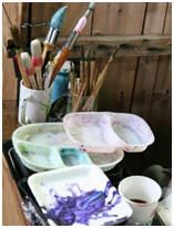 Learn how to paint with watercolors or how to improve your paintings with these free lessons.