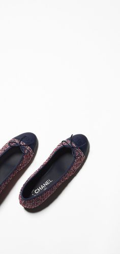 Spring-Summer 2016 Pre-collection - tweed & calfskin-red, ecru & navy blue