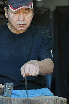 Blacksmith Kitaoka-san