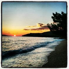 #croatia #beach #sundown