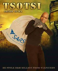 Laura's Page: Tsotsi Jacob Zuma