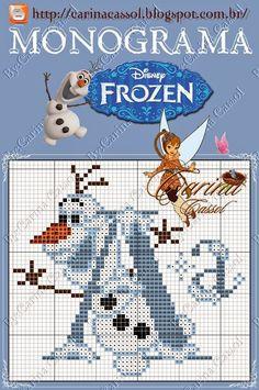 Dinha Ponto Cruz: Frozen ponto cruz