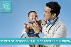 Types of periodontal diseased in children