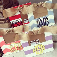 Monogram Frame hand painted and custom - you choose colors