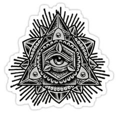 Aug 2019 - All seeing eye within geometric triangle triad pyramid • Also buy this artwork on stickers, apparel, phone cases, and more. Thigh Tattoo Men, Knee Tattoo, Elbow Tattoos, Best Sleeve Tattoos, Tattoo Sleeve Designs, Tattoo Designs Men, Back Neck Tattoo Men, Mens Stomach Tattoo, Design Tattoos