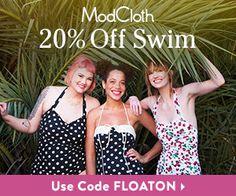 Two Mom Deals: ModCloth bathing suit sale