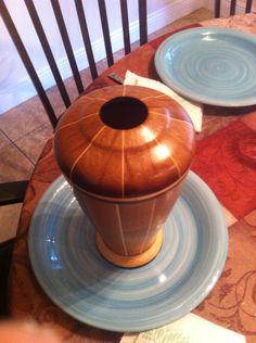 Tall bowl Woodturning, Bowls, Vase, Tableware, Serving Bowls, Wood Turning, Dinnerware, Turning, Tablewares