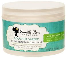 Camille Rose Natural Camille Rose Coconut Water Penetrating Hair Treatment - 8 oz #naturalhair #naturalista #teamnatural #naturalhaircommunity #aff