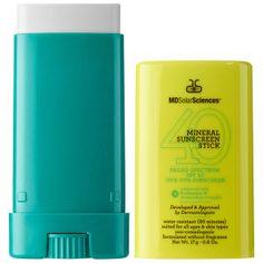 MDSolarSciences - Mineral Sunscreen Stick Broad Spectrum SPF 40 UVA-UVB Sunscreen #sephora