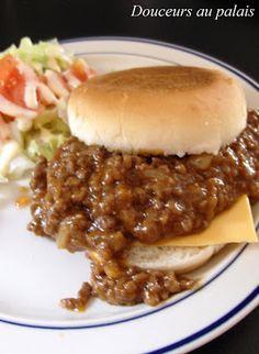Douceurs au palais: Boeuf sauce aux prunes Mac And Cheese, Fudge, Instant Pot, Sandwiches, Cooking Recipes, Snacks, Desserts, Comme, Sloppy Joe