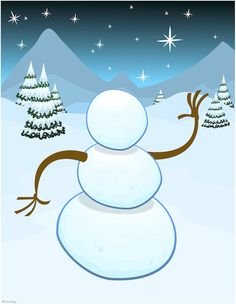 Free #Christmas Printables - Build your own snowman with this activity.  Comes with 4 pages of printable facial expressions, clothing, hats and hands.