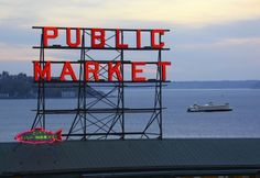 I'm hoping to go to the Pike Place Market in Seattle at the end of May! Gonna be there for my nephew's wedding :)  Super excited!!!