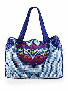 Cecilia Prado Beach Bag (saksfifthavenue.com)