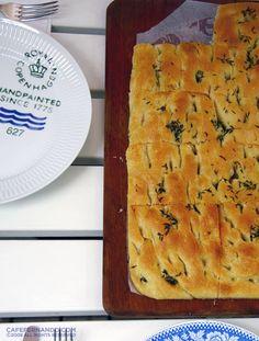 Focaccia and Sunday Brunch : Cafe Fernando – Food Blog - focaccia - focaccia recipe - vera - Bread