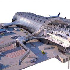 Mexico City Airport - Terminal Concept Design