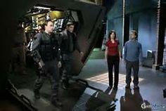 Rodney, Evan, Elizabeth, and Zelenka
