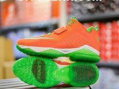 NIKE ZOOM CJ TRAINER 2 TURF SPICY TUNA ORANGE/WHITE-POISON GREEN 643258 803 Sz10 #Nike #BasketballShoes