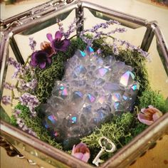 The Angel Aura Quartz Crystal Garden is now available! #crystals #gemstones #geodes #energy #healing #power #metaphysical #reiki #chakras #magic