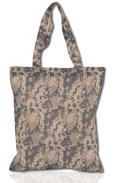 Army Camo Tote Bag