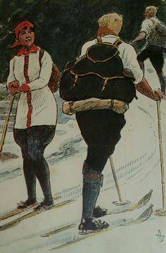 Julekort Andreas Bloch utg Mittet brukt 1915 Christmas Postcards, Christmas Cards, Norway, Samurai, Christmas E Cards, Xmas Cards, Christmas Letters, Merry Christmas Card, Samurai Warrior