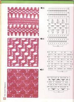 Gallery.ru / Фото #35 - Pontos de croche 205 идей - accessories