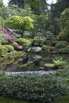 Portland Japanese Garden, Japanese Gardens, Portland Usa, Bath Decor, Dream Garden, Travel Usa, Garden Ideas, Zen, Landscaping