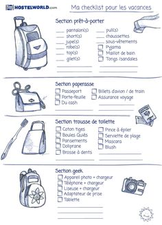 11 graphics that will help you pack your bags more .- 11 graphiques qui vont vous aider à faire vos valises plus facilement Prepare your next vacation with ingenuity. Camping Style, Camping Ideas, Camping Hacks, Pack Your Bags, Travel Checklist, Bullet Journal Inspiration, Bujo, Trip Advisor, Travel Destinations
