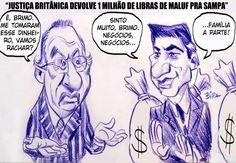 Dinheiro desviado por Maluf é devolvido