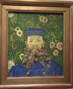"Vincent van Gogh ""Portrait of Joseph Roulin"" ,1889 MOMA NYC"