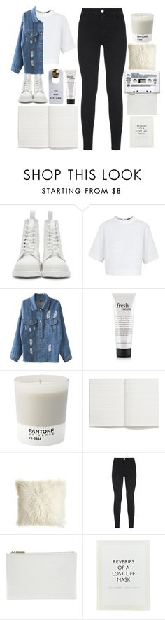 """""""last night made a mess, doesn't get better than this"""" by grunge-alien ❤ liked on Polyvore featuring Dr. Martens, Osman, Chicnova Fashion, philosophy, Pantone, Madewell, Maison de Vacances, J Brand, Whistles and ...Lost"""