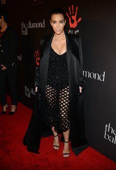 Pin for Later: Was haltet ihr von transparenten Kleidern? Kim Kardashian