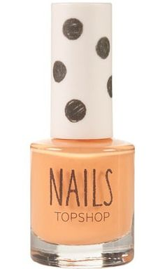 Topshop Nails in Peaches and Cream