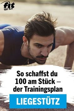Trainingsplan: 100 Liegestütze in nur 4 Wochen The push-up or push-up is next to the pull-up the king discipline among the fitness exercises. With our training plan, you can do 100 pushups in one go after 4 weeks. Fitness Workouts, Fun Fitness, Training Fitness, Tips Fitness, Training Plan, Easy Workouts, Fitness Motivation, Health Fitness, Fitness Quotes