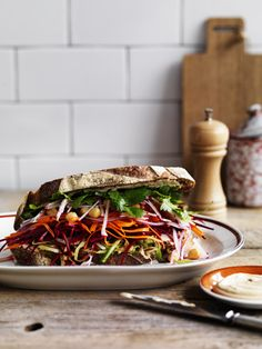 The Ultimate Salad Sandwich   Gourmet Traveller