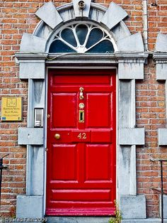 """The Red Door"" taken by Jared Fein"