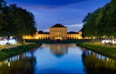 Castle Nymphenburg in Munich by photographer Christian Schranner.  Read more about the castle at www.inside-munich.com
